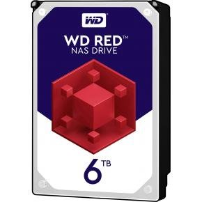 Western Digital WD60EFAX RED NAS HDD [6TB, 3.5 inch, SATA3, 5400RPM, 256MB, 150 MB/s]
