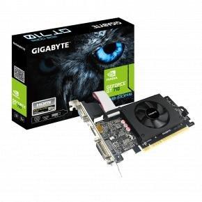 Gigabyte GV-N710D5-2GIL GeForce GT 710 [PCIe 2.0 x8, 2 GB, GDDR5, 64 bit, 300W]
