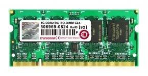 Transcend JM667QSU-1G JetRam SO-DIMM [1GB DDR2 667 CL5]