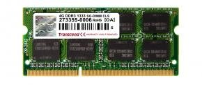 Transcend TS512MSK64V3N SO-DIMM [4GB, DDR3, 1333Mhz, CL9, 1.5v]