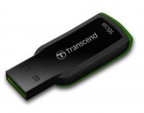 Transcend TS16GJF360 JetFlash 360 [16GB, USB2.0, 18/ 6MB/s, Black]