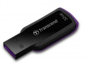 Transcend TS32GJF360 JetFlash 360 [32GB, USB2.0, 18/ 6MB/s, Black]