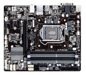 Gigabyte GA-B85M-DS3H [LGA1150 uATX B85 4x DDR3 1600  Multi-GPU Ready Onboard VGA GBLAN]