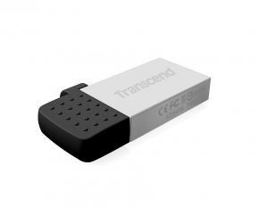 Transcend TS16GJF380S JetFlash 380 [16GB, USB2.0, 19/ 7MB/s, Silver Plating]