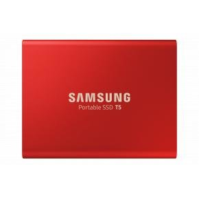 Samsung MU-PA500R/EU T5 SSD [500 GB, USB Type-C, 3.2 Gen 2, 540 MB/s, Password protect, Red]