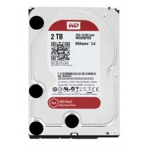 "Western Digital WD20EFRX RED NAS HDD [2TB, 3.5"", SATA3, 64MB, 5400 RPM, 147 MiB/s, 4.1W, CMR]"