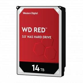 "Western Digital WD140EFFX RED NAS HDD [14TB, 3.5"", SATA3, 5400 RPM, 512MB, 210 MiB/s, CMR]"