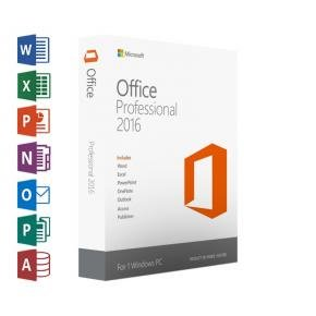 Microsoft Office 269-16805 Professional 2016 Digital license [1-user, All-Languages, Windows]