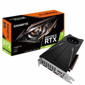 Gigabyte GV-N208TTURBO-11GC GeForce RTX 2080 Ti [ATX, 11GB, GDDR6, 352-bit, 616GB/s, 750W]