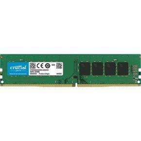 Crucial CT16G4DFD824A Crucial U-DIMM [16GB, DDR4, 2400Mhz, CL17, Single Ranked, Unbuffered, 1.2v]