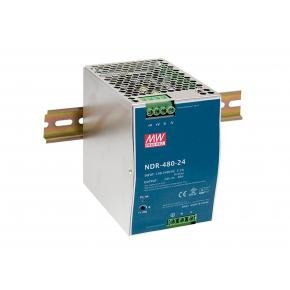 Levelone POW-4861 Industrial Power Supply [48VDC, 480W, DIN-Rail, PoE Ready, Short Circuit,Overload]