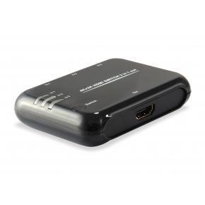 Equip 332721 HDMI Switch [3x, HDMI1.4, Dolby True-HD, 7.1CH, Black]