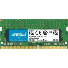 Crucial CT8G4SFS8266 SO-DIMM [8 GB, DDR4-2666, CL19, Single Rank, 1.2v]
