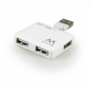 Ewent-EW1125-USB2.0-Hub-mini-4-port-white
