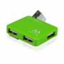 Ewent-EW1127-USB2.0-Hub-mini-4-port-green